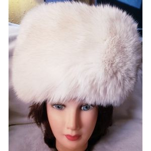 Brooks Brothers fox and cashmere hat